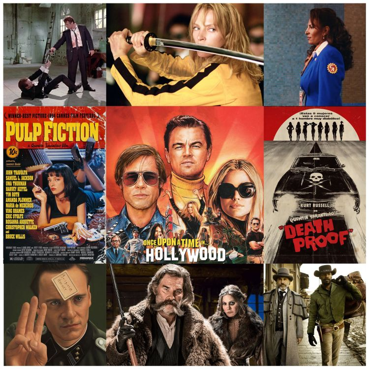 cover art for 45 Tarantino e Once Upon a Time... In Hollywood