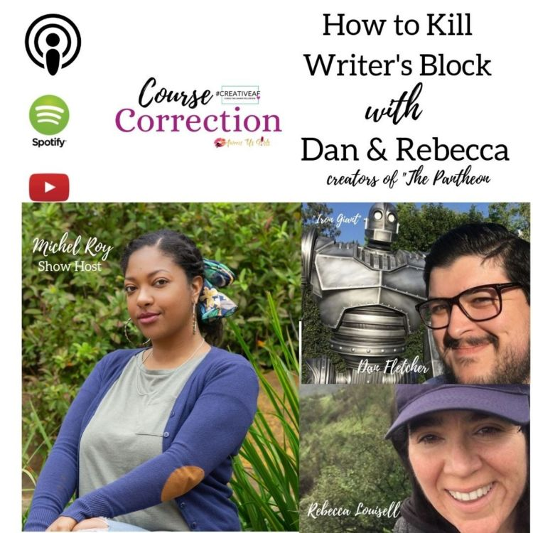 cover art for How to Kill Writer's Block with Dan & Rebecca