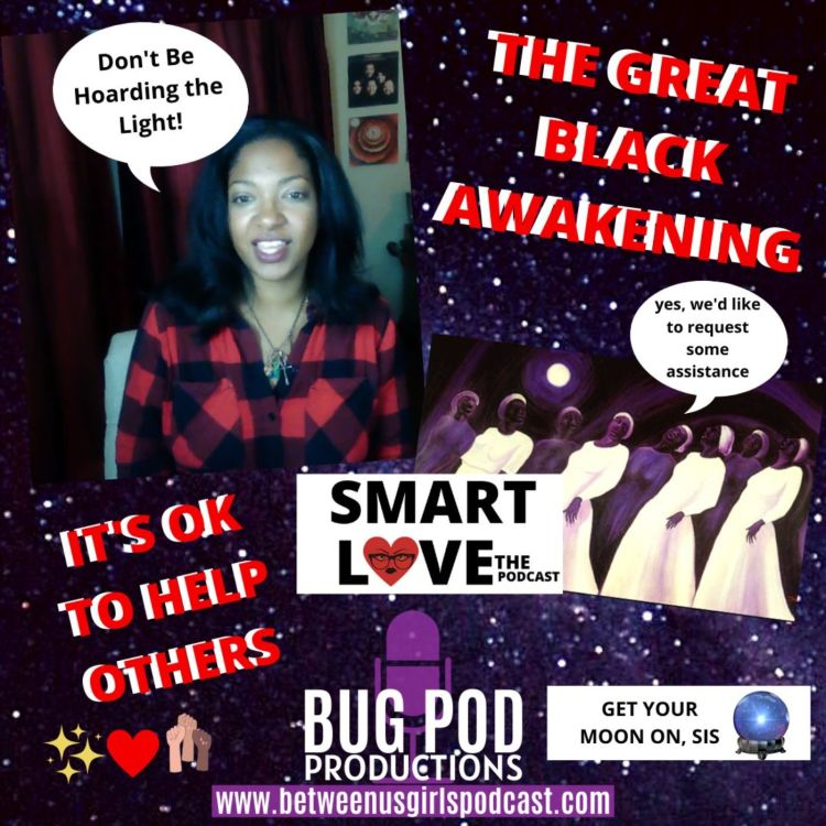 cover art for SMART LOVE: The Great Black Awakening + Black Parade & Light Hoarding