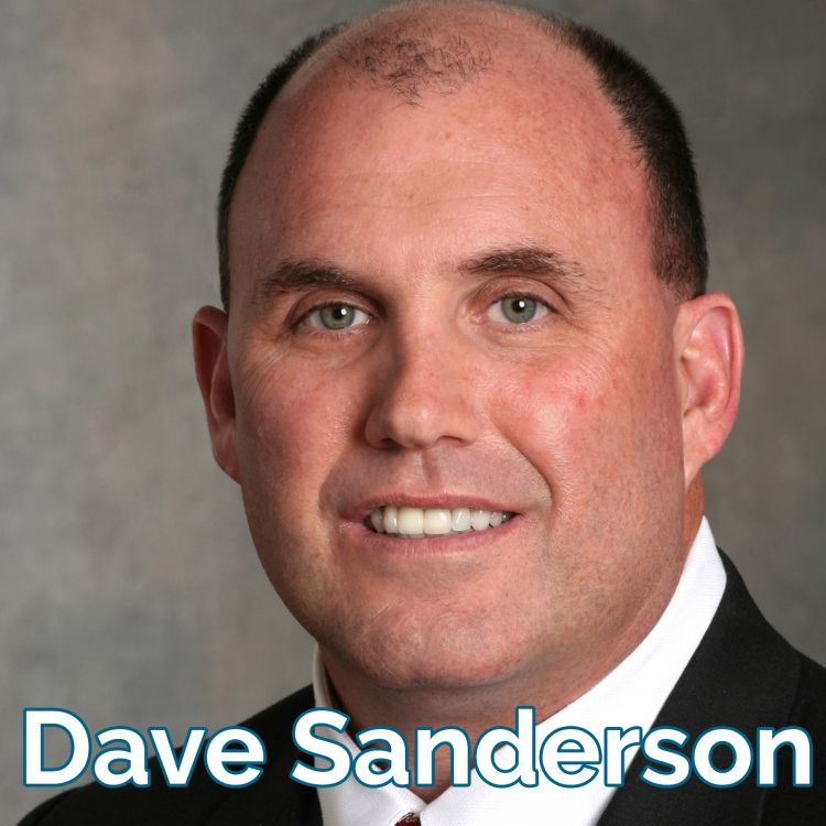 cover art for Dave Sanderson: Ordinary Leaders, Extraordinary Situations [audio]