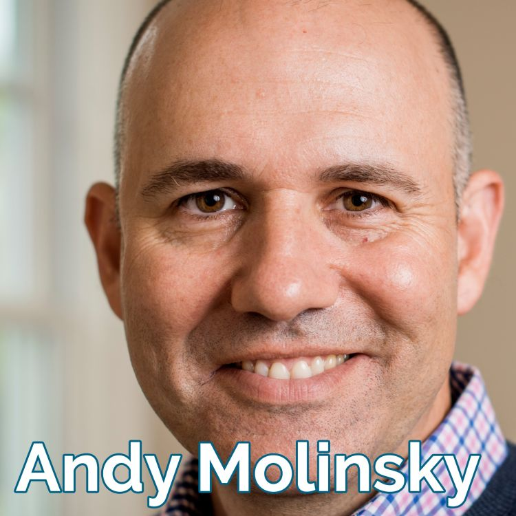cover art for Prof Andy Molinsky: Reaching Beyond Your Comfort Zone [audio]