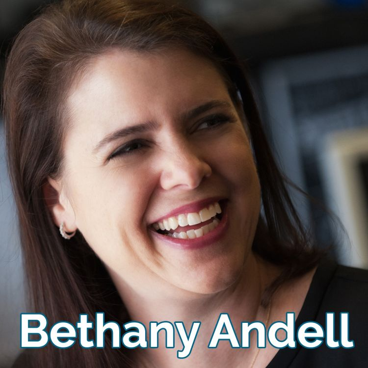 cover art for  Unleashing the Inherent Good in All Companies [audio] Bethany Andell