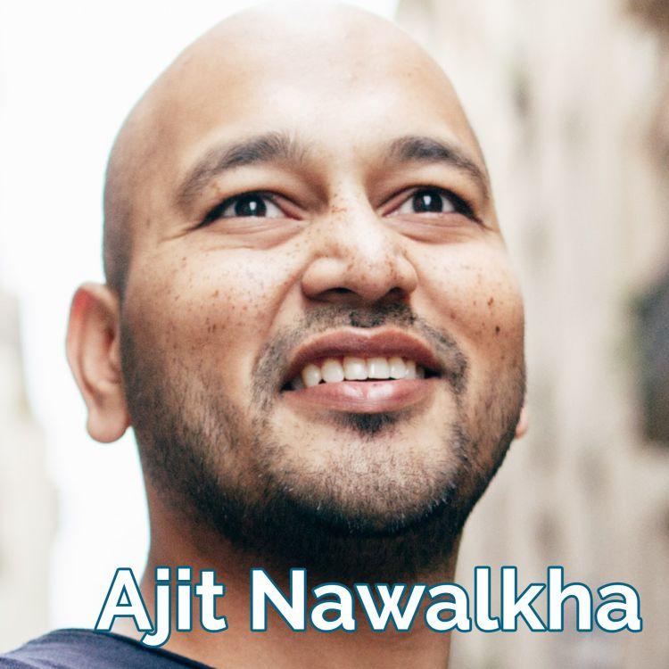 cover art for Ajit Nawalkha: Live Big!