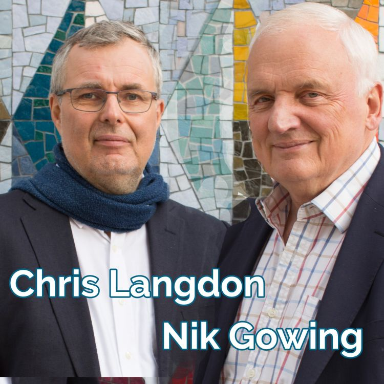 cover art for Thinking The Unthinkable: Nik Gowing and Chris Langdon