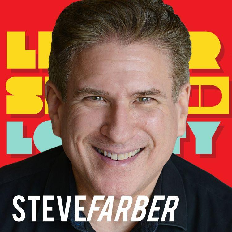cover art for Steve Farber: Love is Just Damn Good Business