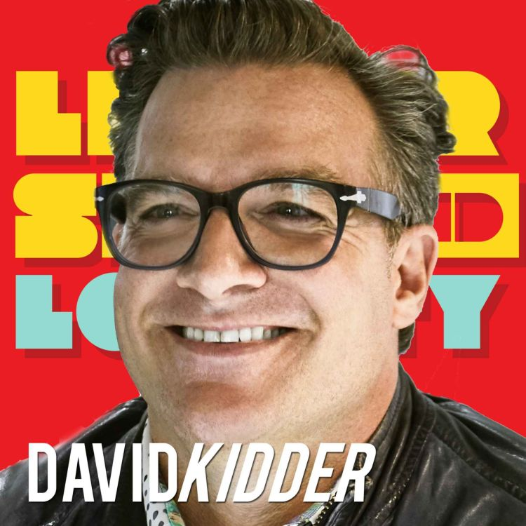 cover art for David Kidder: New to Big Leadership