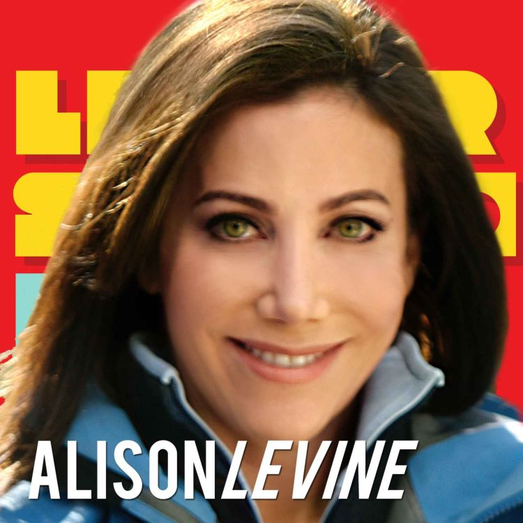 cover art for Alison Levine: On the Edge