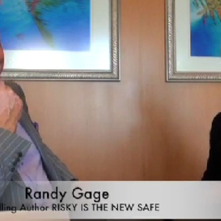 cover art for Randy Gage, 9X Bestselling Author: Why Risky Is The New Safe