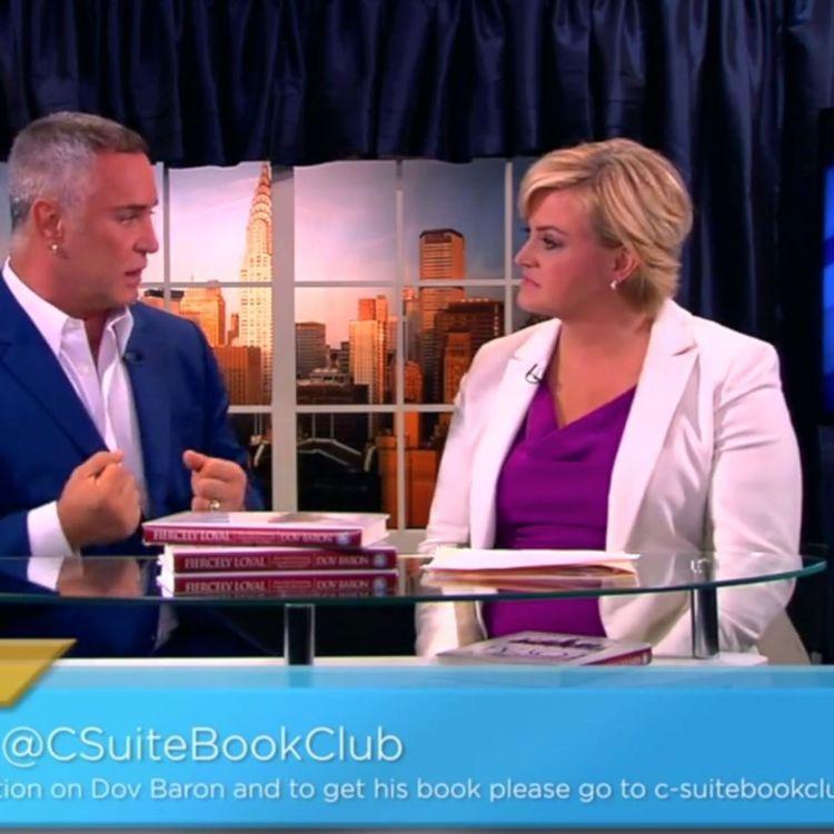 cover art for DOV BARON'S NEW LEADERSHIP BOOK FIERCELY LOYAL BESTSELLER TV