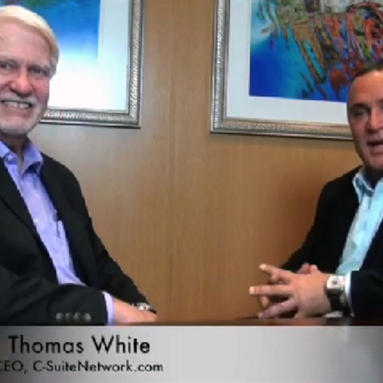 cover art for Thomas White CEO of C-Suite Network