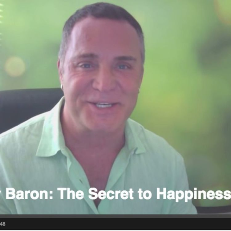 cover art for Dov Baron.  The Secret to Happiness is...