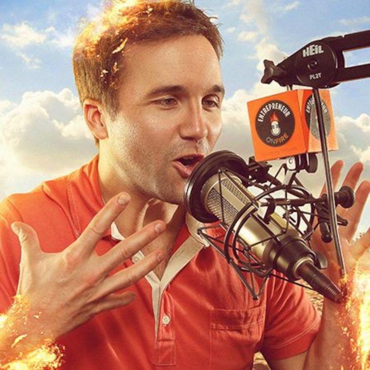 cover art for (Audio Only) John Lee Dumas: The Entrepreneur On Fire!
