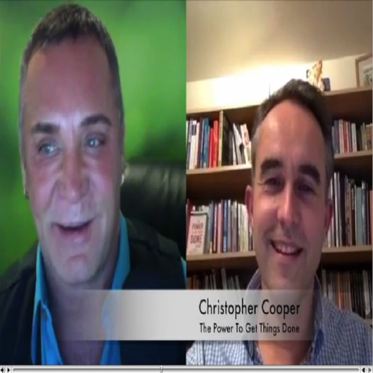 """cover art for Chris Cooper: """"The Power to get Things Done"""" on Dov Baron's Leadership and Loyalty Show"""