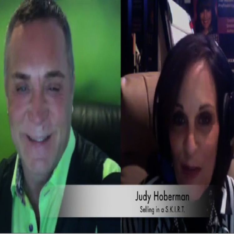 """cover art for Judy Hoberman President of """"Selling In A Skirt"""" is .@DovBaron's guest on Full Monty #Leadership and Loyalty Show."""