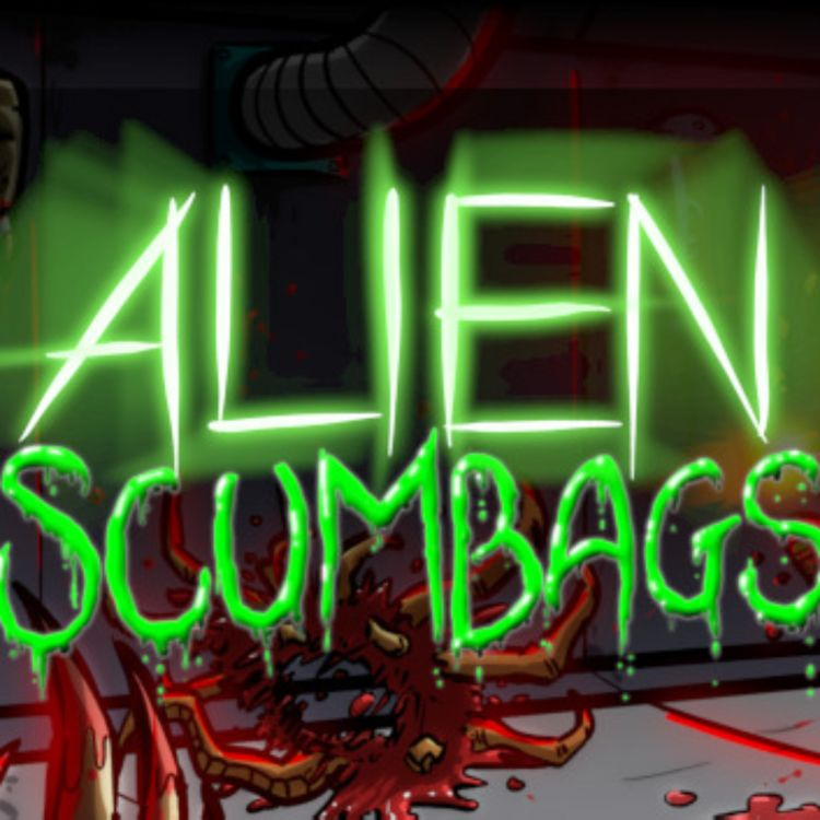 cover art for Alien Scumbags Review