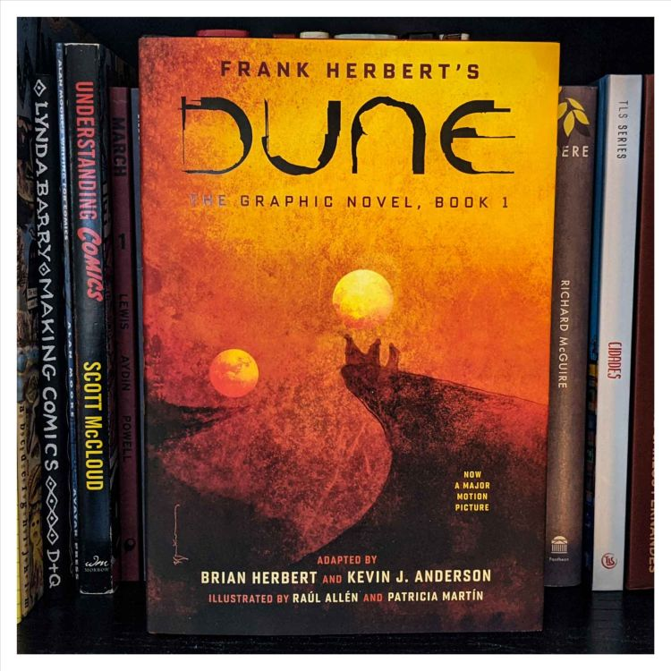 cover art for #160 - DUNE The Graphic Novel, Book 1