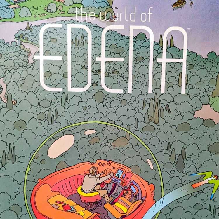 cover art for #163 - The World of Edena