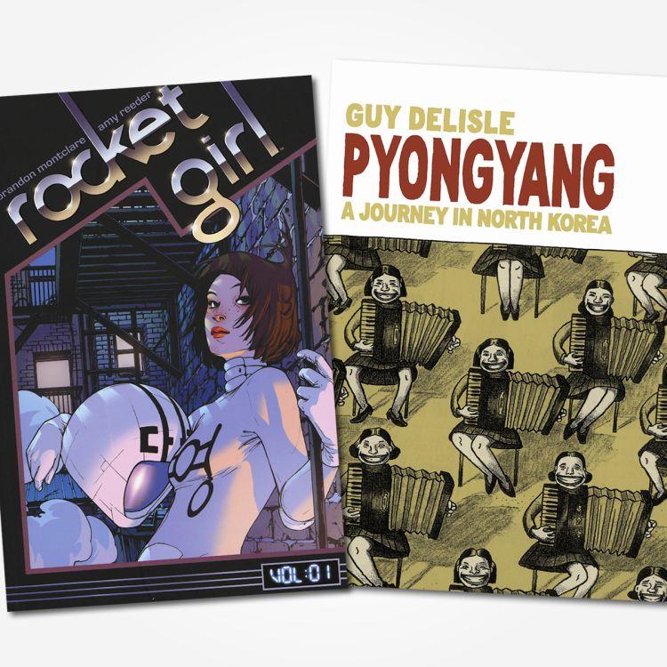 cover art for #46 - Pyongyang / Rocket Girl
