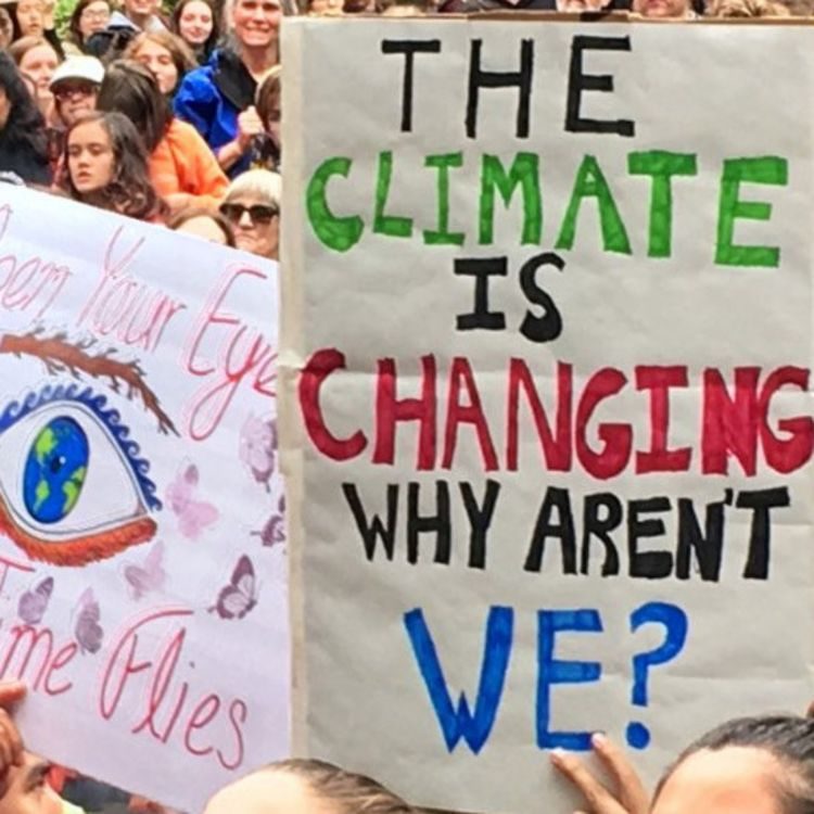 cover art for 221: Climate March Reflections