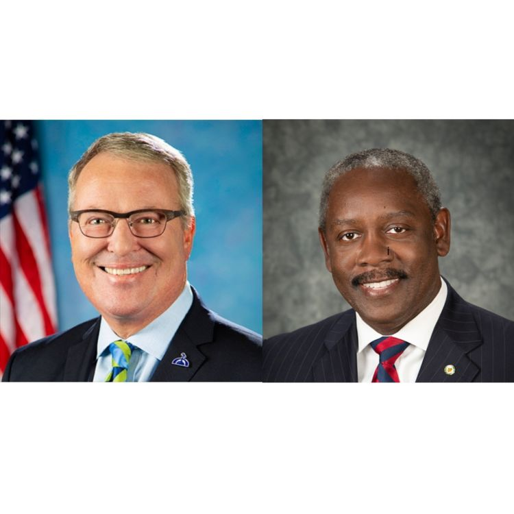 cover art for 249: Florida Mayors Jerry Demings and Buddy Dyer, part 2: Humility and Action from U.S. officials