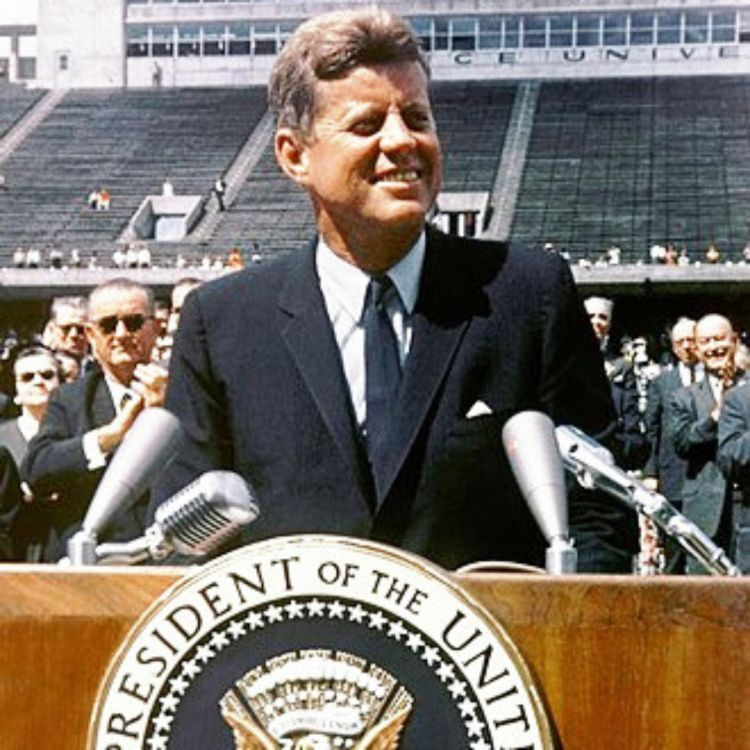 cover art for 372: JFK, the moon, and missing leadership today