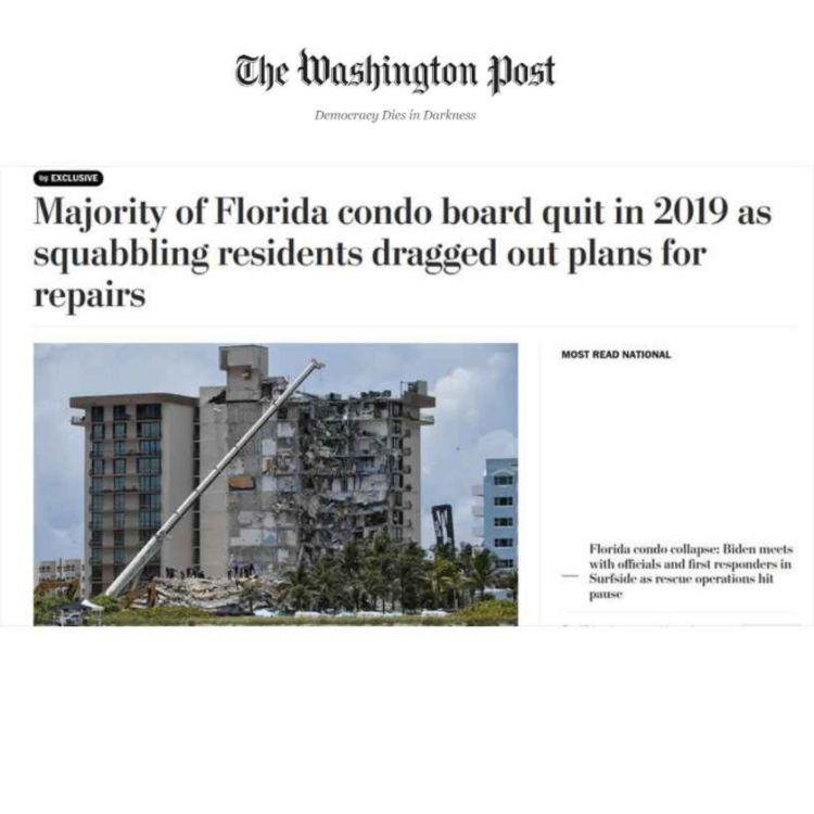 cover art for 482: Florida's Condo Collapse, Doom Psychology, and Our Environment