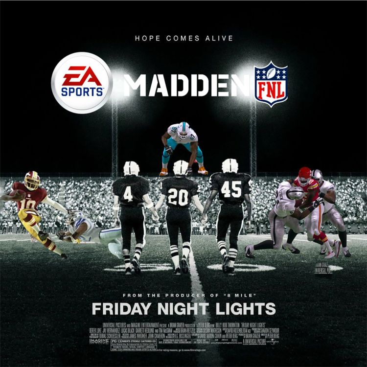 cover art for Episode 12: Friday Night Lights