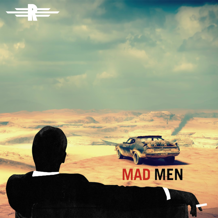 cover art for Episode 46: Mad Men/Max