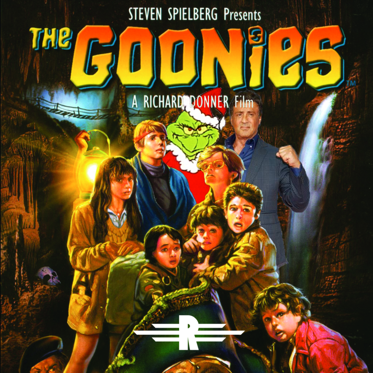 cover art for Episode 56: The Goonies