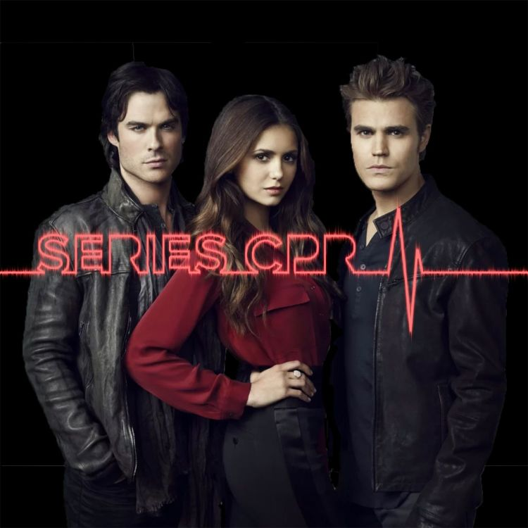 cover art for Episode 13: Series CPR: The Vampire Diaries