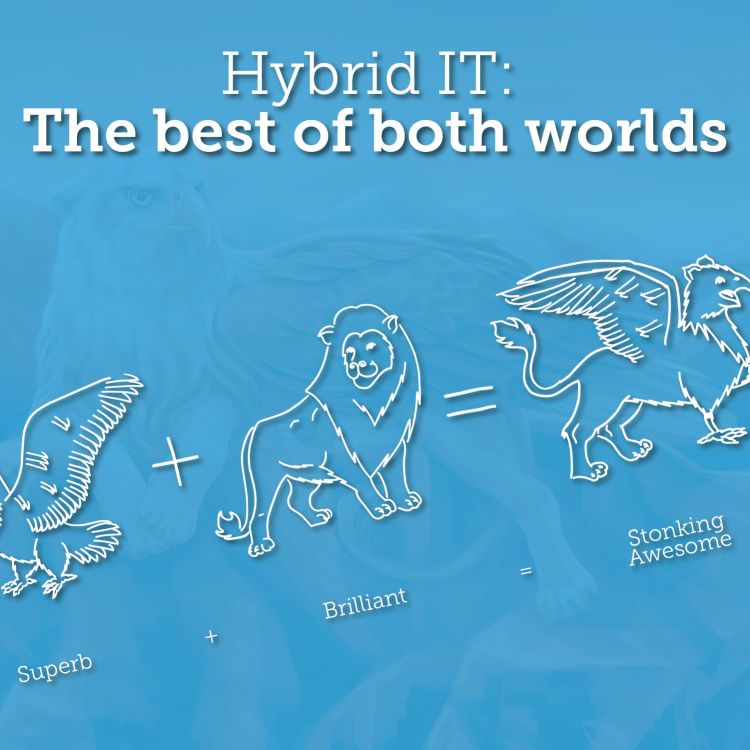 cover art for Hybrid IT