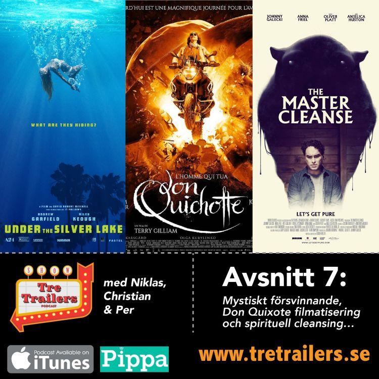 cover art for #7 Mystiskt försvinnande, Don Quixote filmatisering och spirituell cleansing…