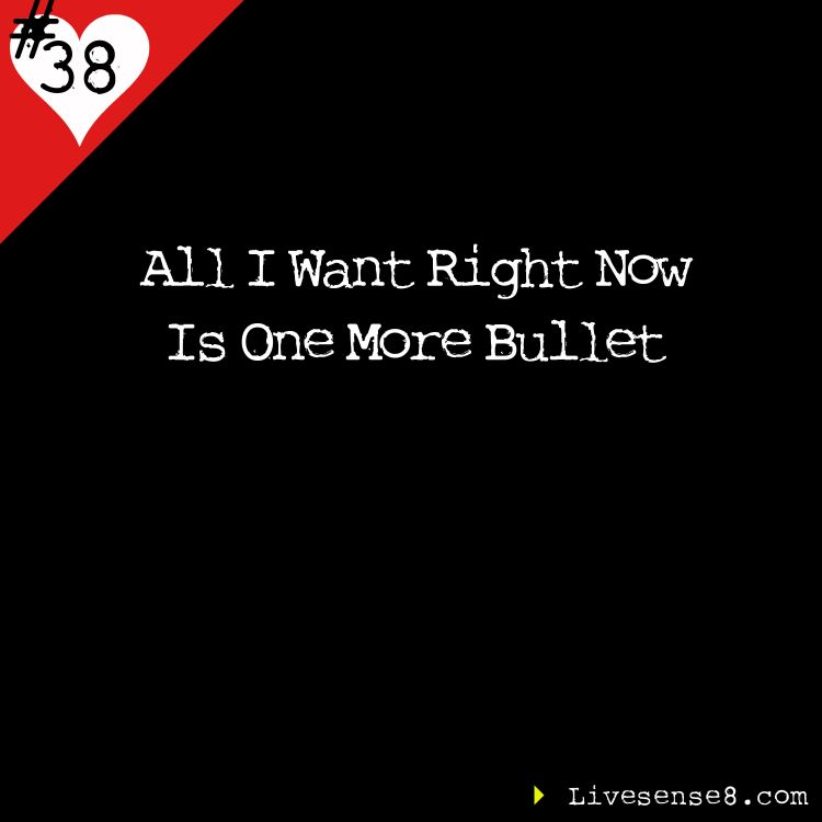 cover art for LS8: 38 All I Want Right Now Is One More Bullet
