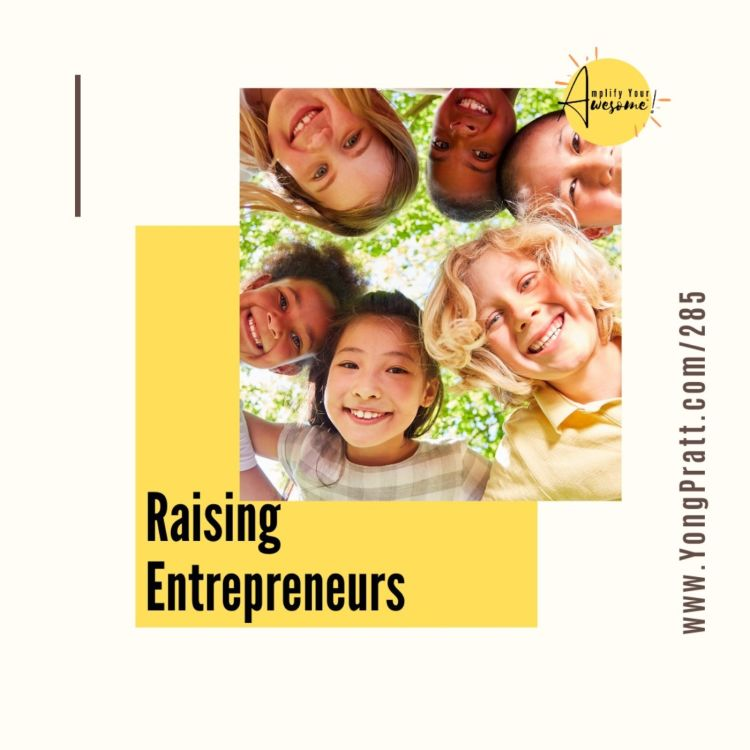 cover art for Raising Entrepreneurs