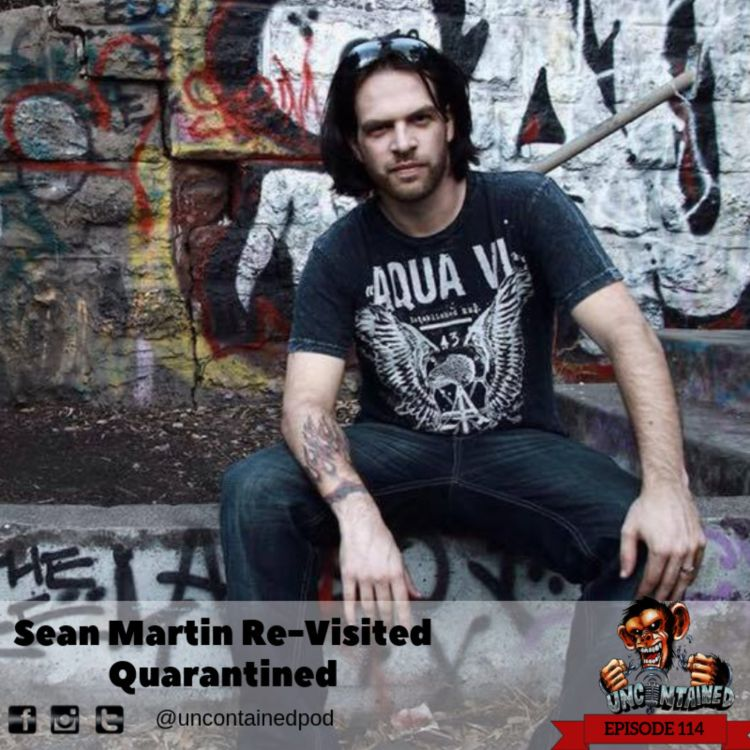 cover art for Re-Visited Episode 114  Sean Martin - The Quarantined