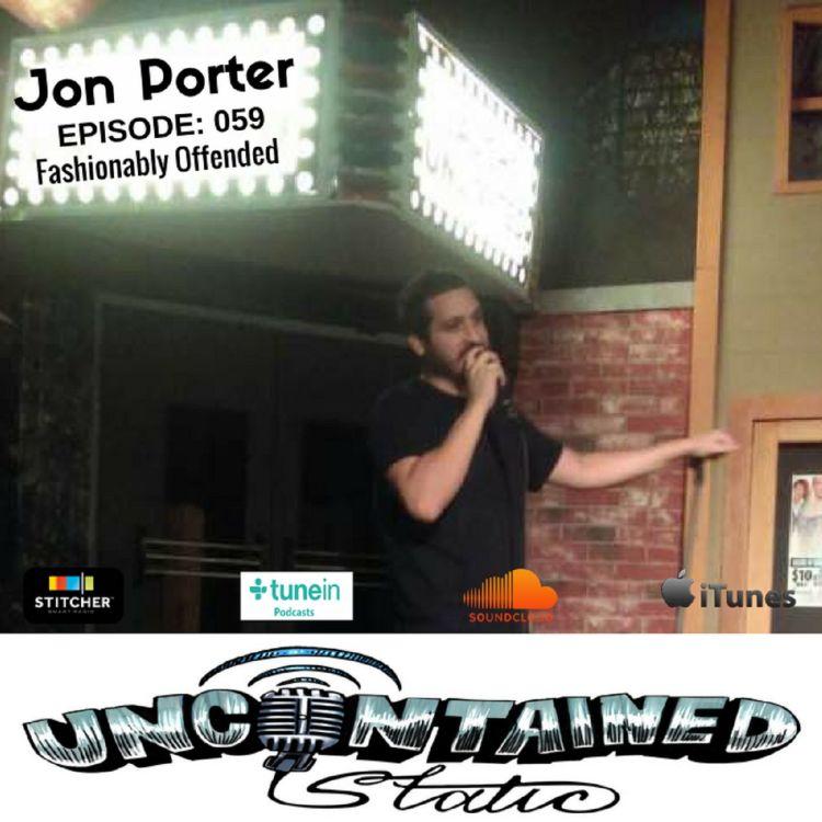 cover art for Episode 059: Jon Porter - Fashionably Offended