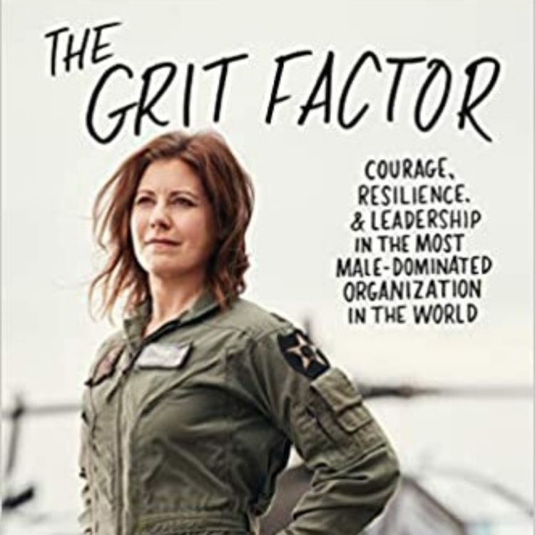 cover art for The Grit Factor with Shannon Huffman Polson