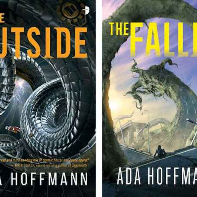 cover art for SFP-Now Chats to Ada Hoffman about her latest book The Fallen