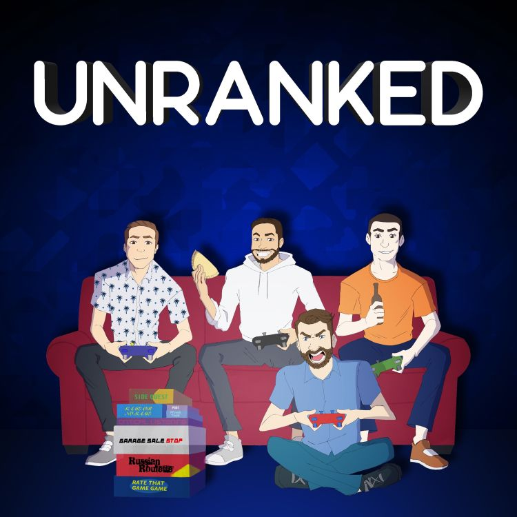 cover art for 061 - Drunk Cast - Unranked Power Hour