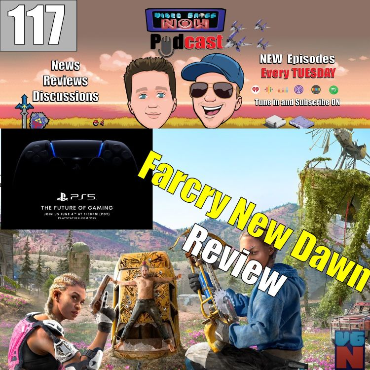 Finally Farcry New Dawn And Playstation 5 Event Video Games Now Podcast Acast