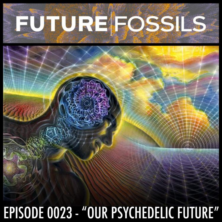 "cover art for 23 - ""Our Psychedelic Future"" at the Australian Psychedelic Society"
