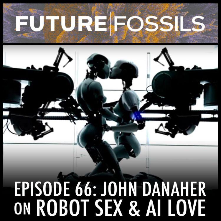 cover art for 66 - John Danaher (Robot Sex & AI Love)