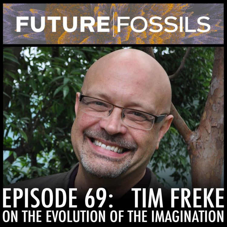 cover art for 69 - Tim Freke (The Evolution of the Imagination)