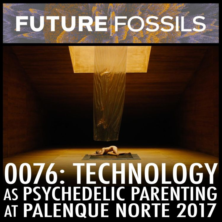 cover art for 76 - Technology as Psychedelic Parenting (at Palenque Norte, Burning Man 2017)