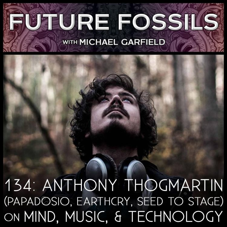 cover art for 134 - Anthony Thogmartin on Mind, Music, and Technology