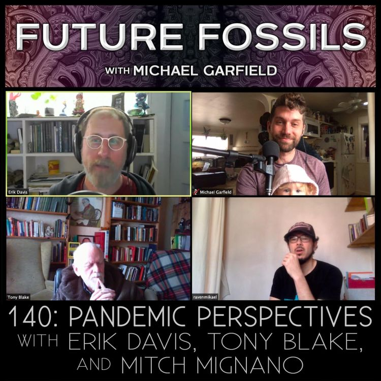 cover art for 140 - Pandemic Perspectives with Erik Davis, Tony Blake, and Mitch Mignano