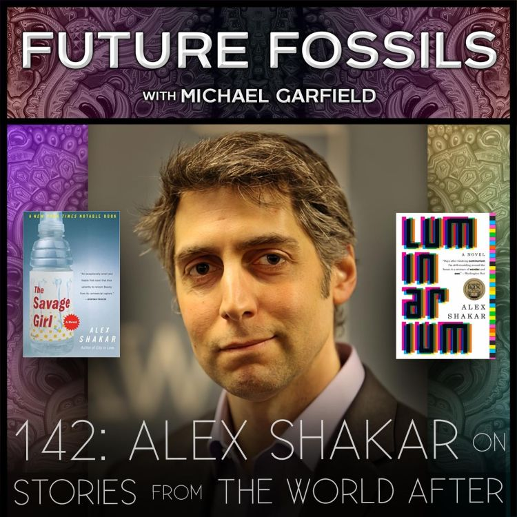 cover art for 142 - Alex Shakar on Stories from The World After