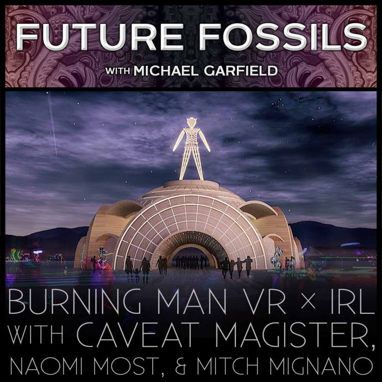cover art for 153 - Burning Man VR x IRL with Caveat Magister, Naomi Most, and Raven Mitch Mignano