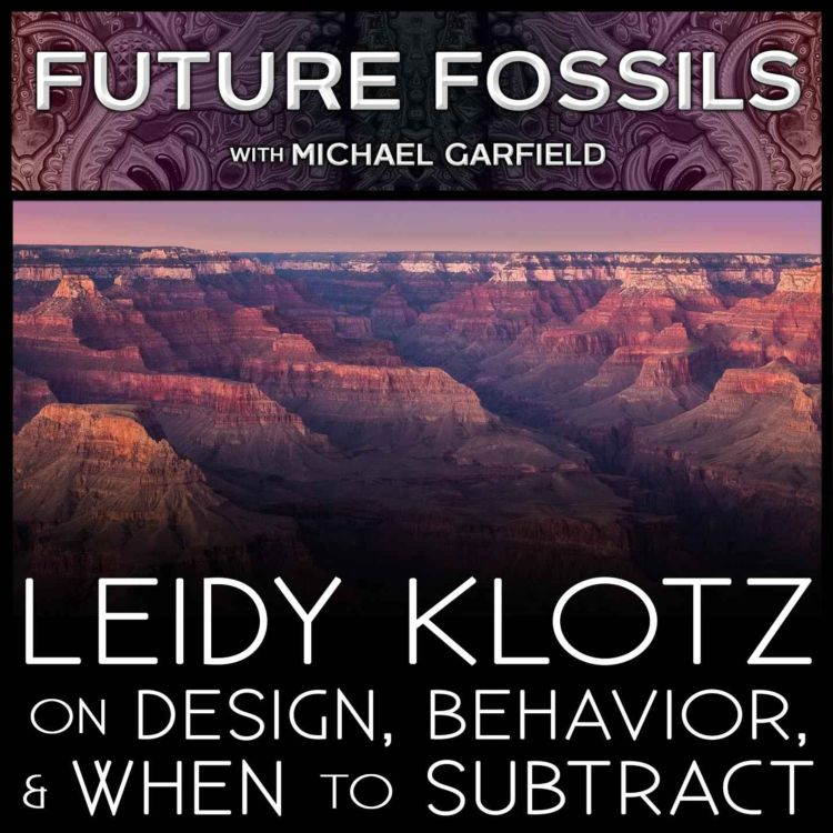 cover art for 169 - Leidy Klotz on Design, Behavior, and When to Subtract