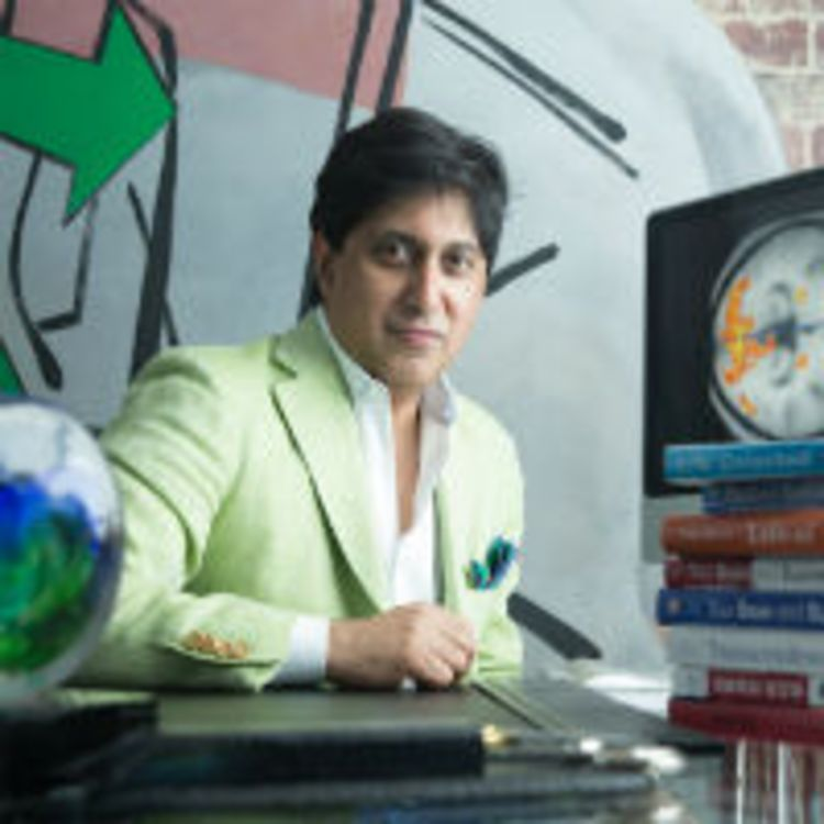 cover art for Ep 53: Unlock the power of the unfocused mind. With Dr. Srini Pillay